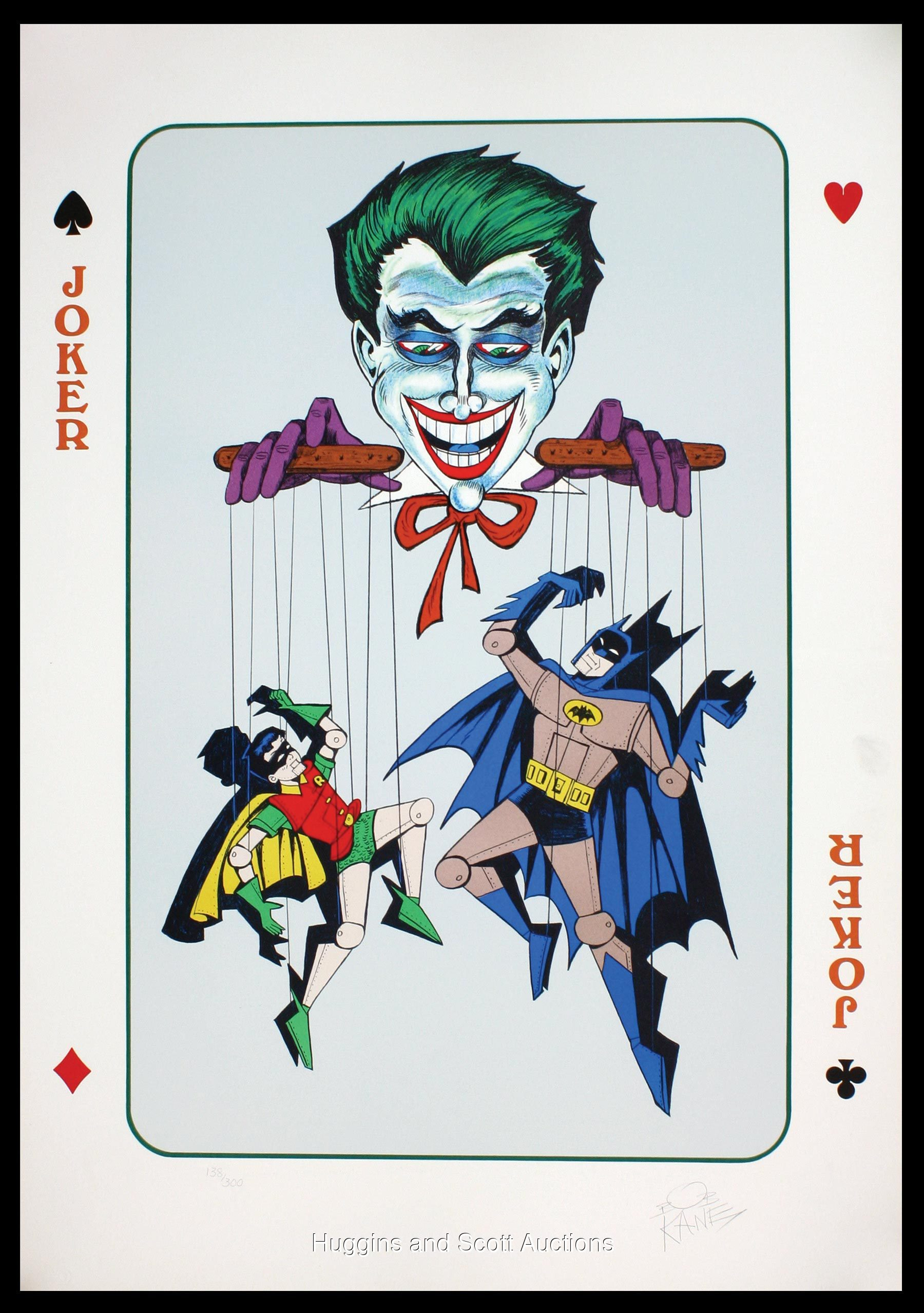 old joker card